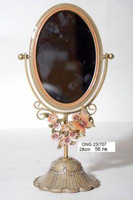 """Огледало за тоалетка """"Цветя"""""""