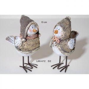 Комплект Коледни гълъбчета