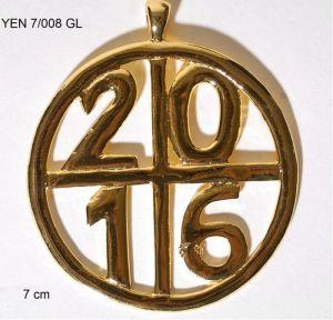 Медальон кръгъл 2016