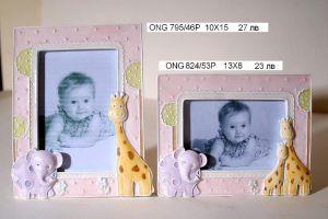 """Рамка за снимка """"Слон и жираф"""""""