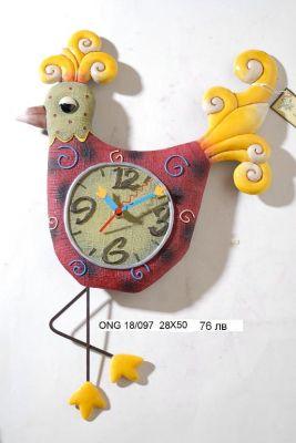 "Стенен часовник с махало ""Пиле"""