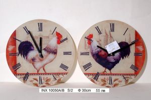 "Комплект стенни часовници ""Пиле"""