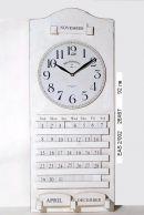 Стенен часовник с календар